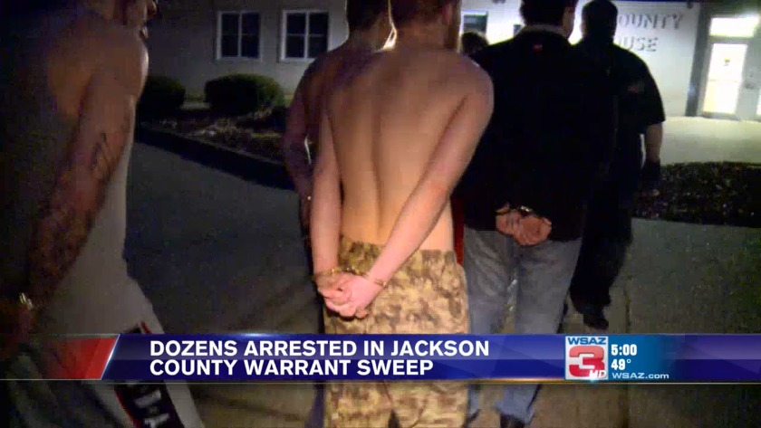 UPDATE: 46 arrested so far in major warrant sweep