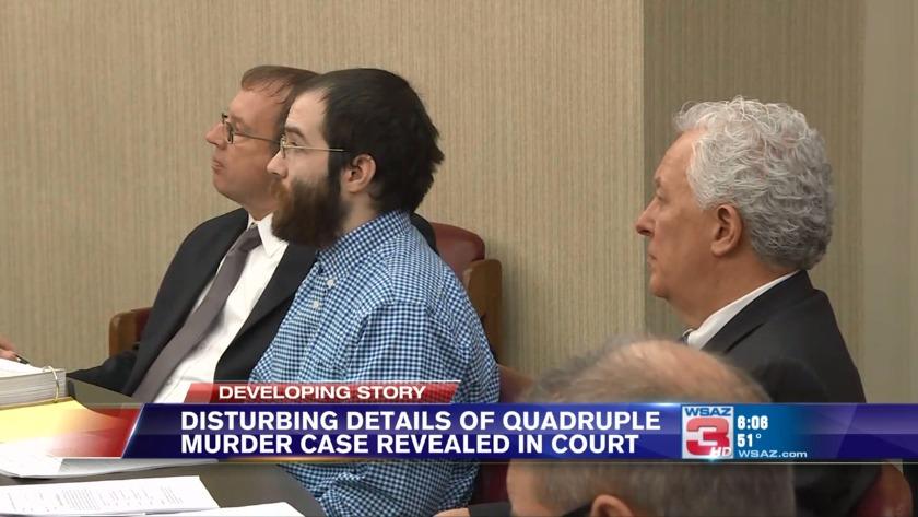 UPDATE | Convicted quadruple murderer Arron Lawson sentenced to death