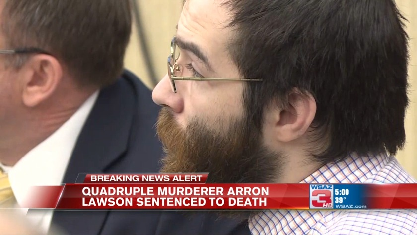 UPDATE | Convicted quadruple murderer Arron Lawson sentenced