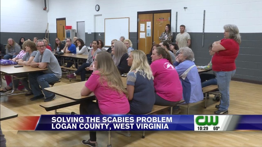 Logan County parents, school officials met to discuss scabies