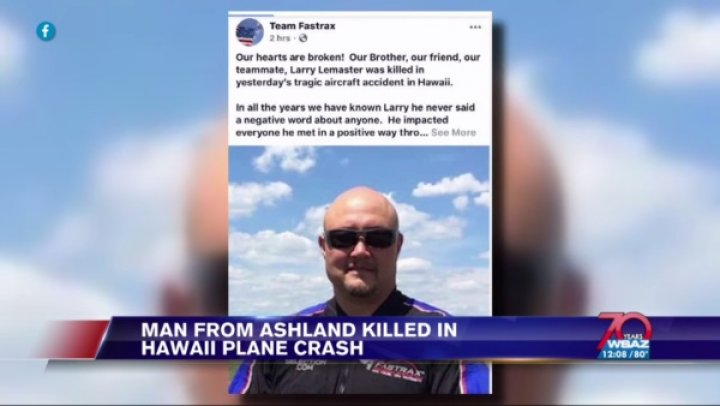 UPDATE | Man from our region among victims in Hawaiian plane crash