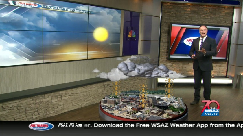 WATCH | Brandon uses new weather technology to show how