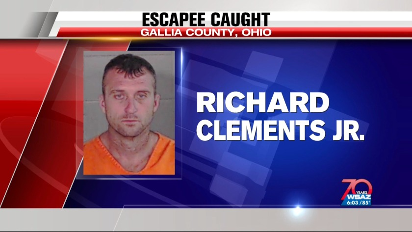 UPDATE | Inmate caught after escape from Gallia County Jail