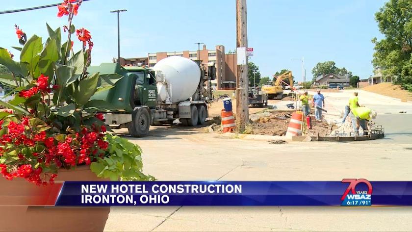UPDATE | Work begins on $15 million Marriott Town Suites