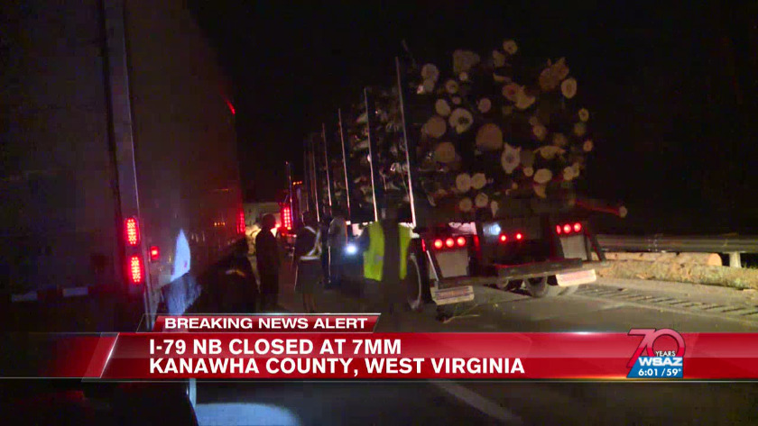 I-79 N reopens after being shut down for four hours
