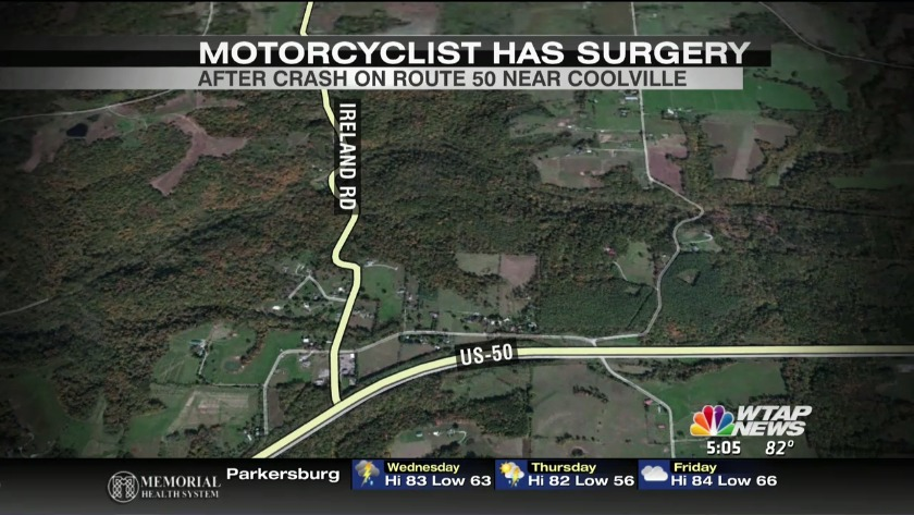 UPDATE: Name of man hurt in motorcycle accident released