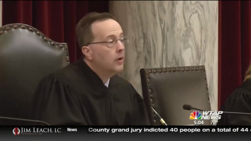 UPDATE: Ex-state justice barred from practicing law in West