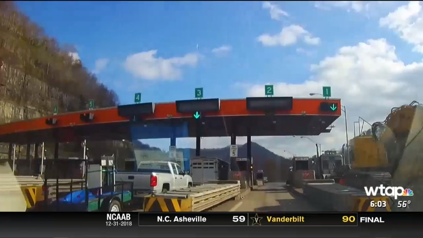 UPDATE: WV Turnpike toll increase delayed until Jan  15, 2019