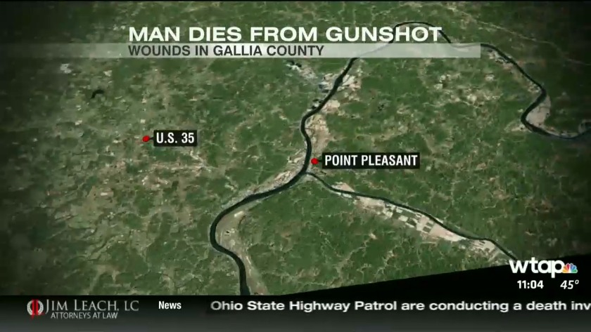 UPDATE: Man who died in Gallia County, Ohio was shot in