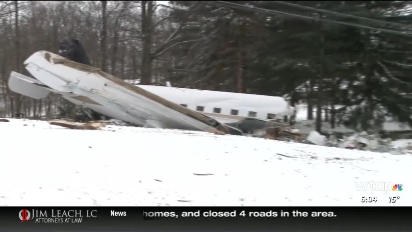Two killed in Ohio plane crash