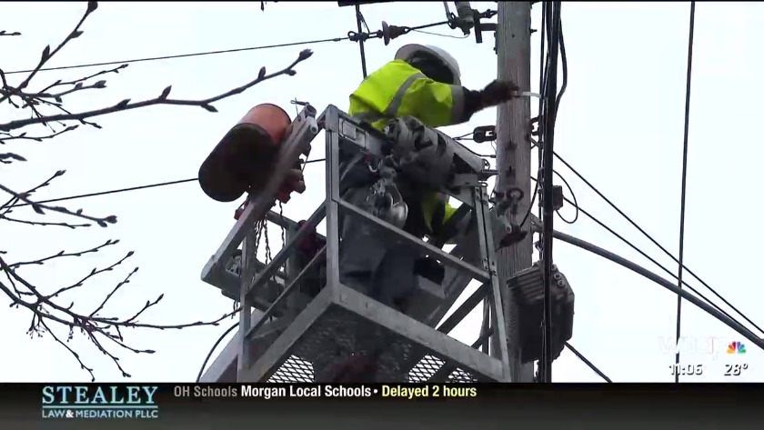 Cas Cable Installing Lines In Marietta To Provide Cable