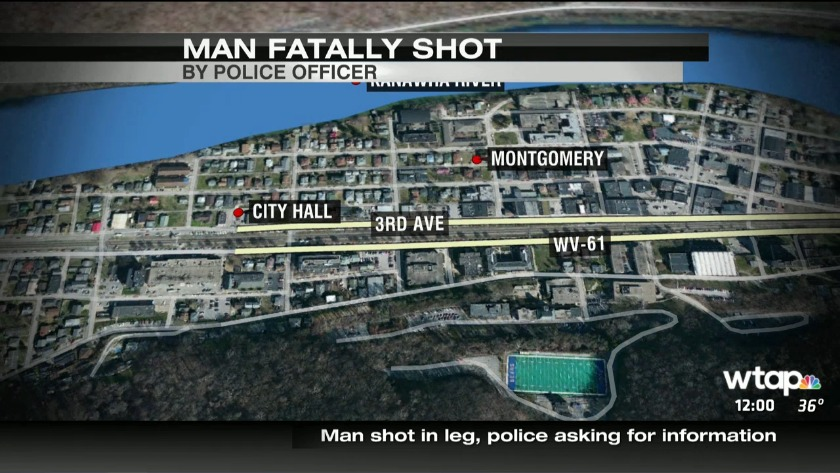 Deputies ID man fatally shot by officer in Montgomery, W Va