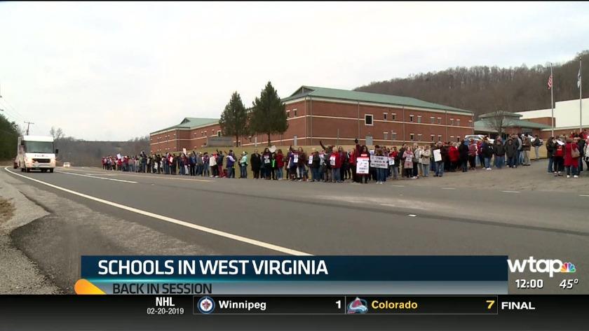 UPDATE: W Va  teacher strike officially over