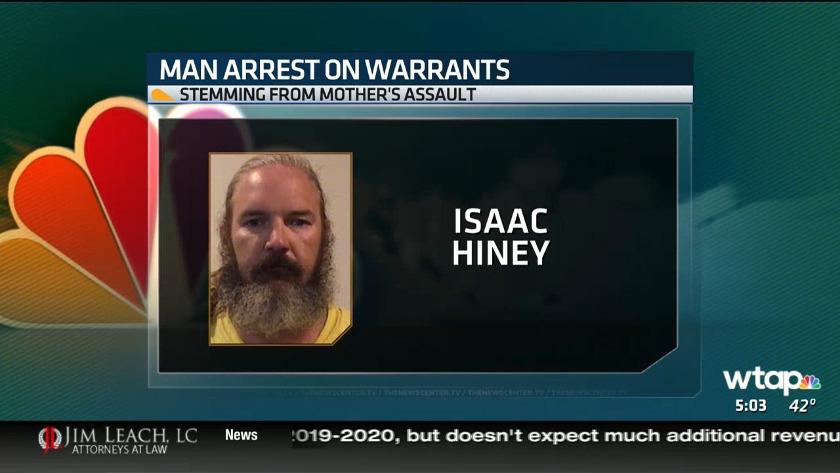Clarksburg man arrested on three felony warrants after