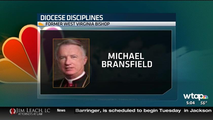UPDATE: Former West Virginia bishop disciplined by pope