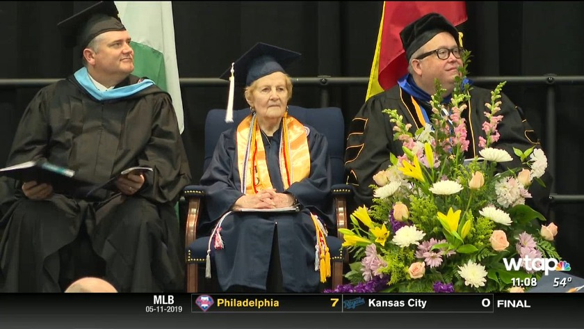 This is Home - Woman graduates WVUP at age of 83
