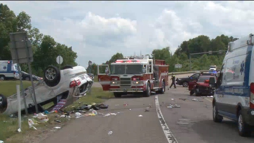 Update All Four People Hurt In Car Crash Released From Hospital