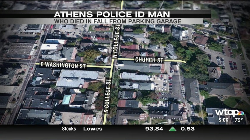 UPDATE: Athens police ID man who died in fall from parking