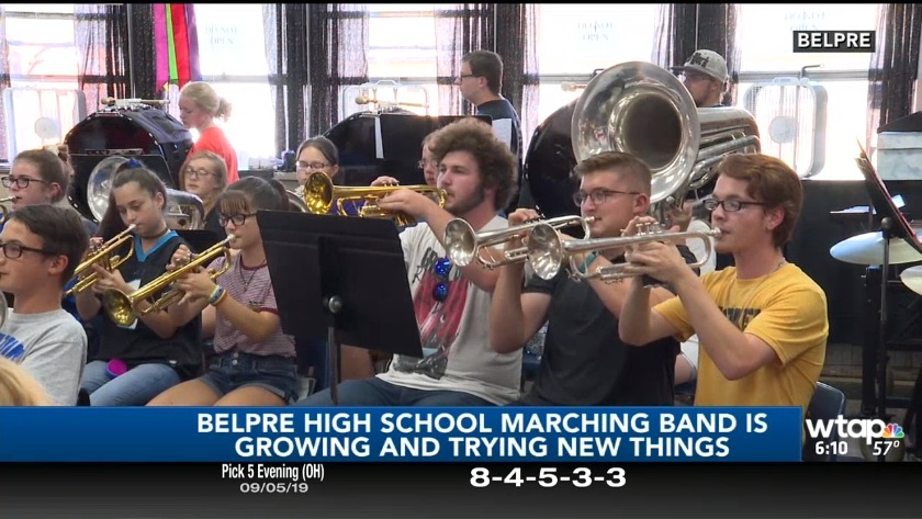 Belpre High School Marching Band a point of pride for community