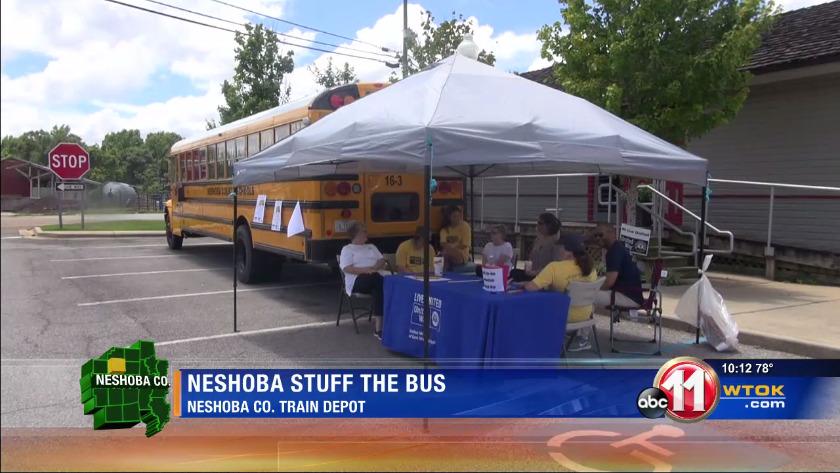 Stuff the Bus kicks off in Neshoba County