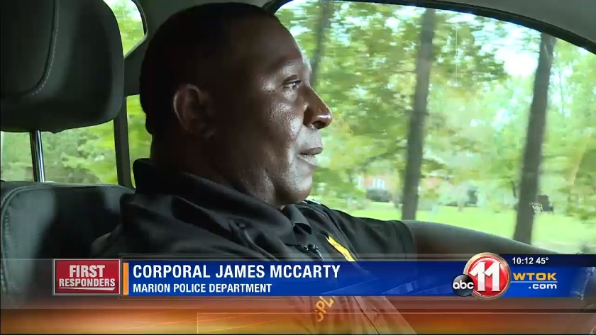 first responders corporal james mccarty