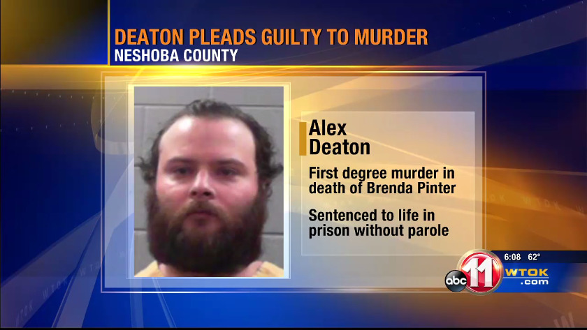 Convicted murderer sentenced in death of Neshoba County woman