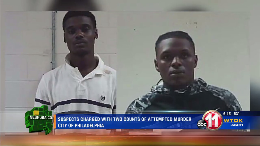 Two suspects charged in Philadelphia double shooting