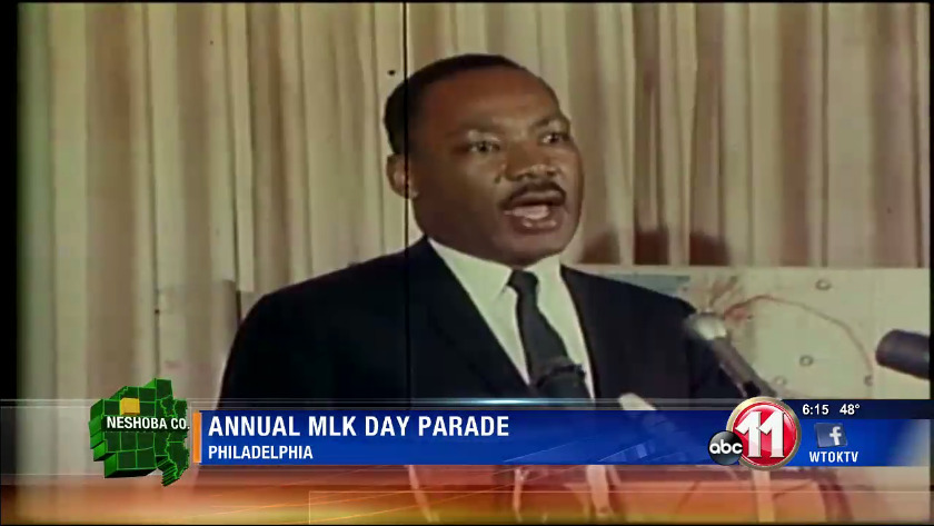 Philadelphia community pays tribute to Dr  King