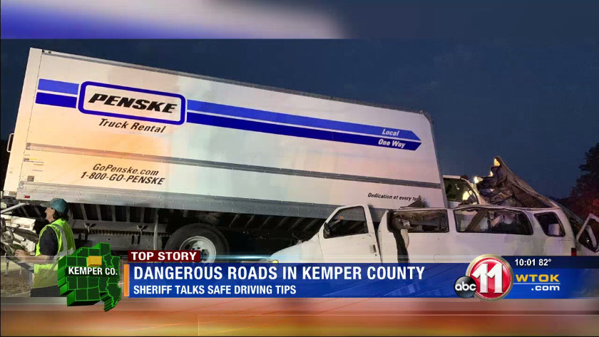 Kemper County Sheriff talks safe driving tips