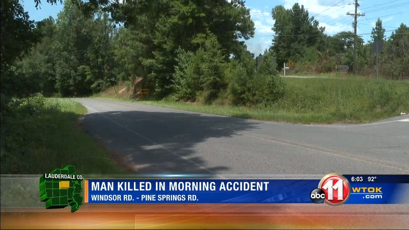 Man killed in early morning wreck