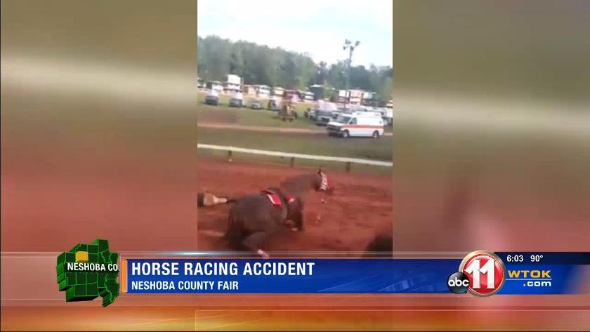 Neshoba County Fair Horse Racing Accident
