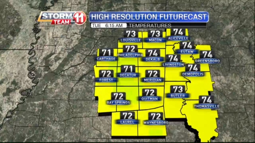 Today's Weather - April 17th, 2019
