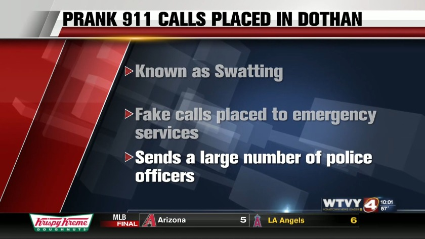 Prank Calls Putting Law Enforcement and Homeowners in