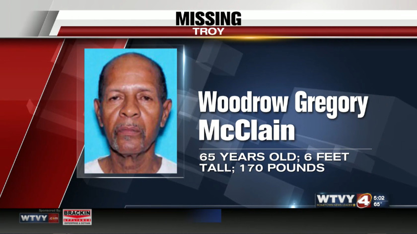 Troy Police searching for missing man