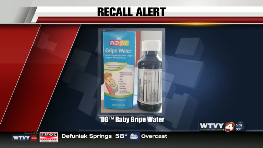Gripe Water For Infants Adults Sold At Dollar General Recalled