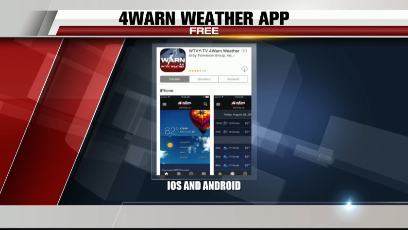 Prepare for storms with the 4Warn Weather App