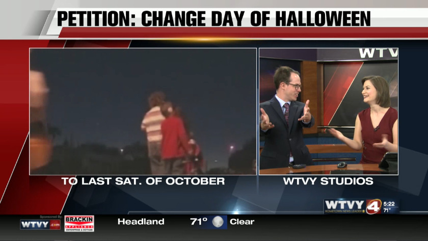 Petition to change when Halloween takes place