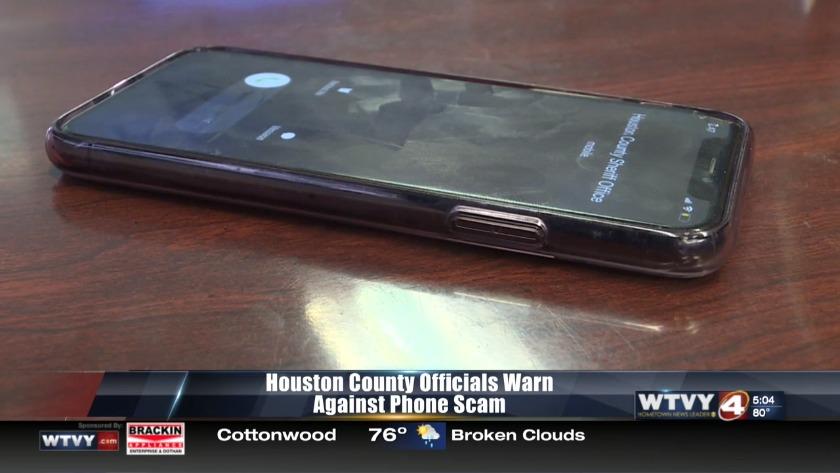 Houston County investigates phone scam