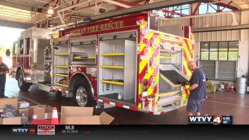 Dothan Fire Department welcomes new truck