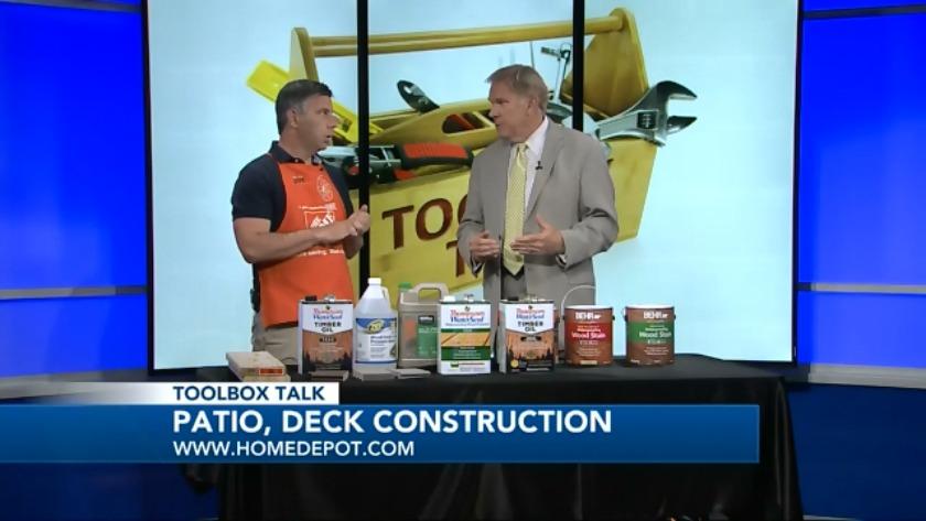 Toolbox Talk Patio Deck Construction