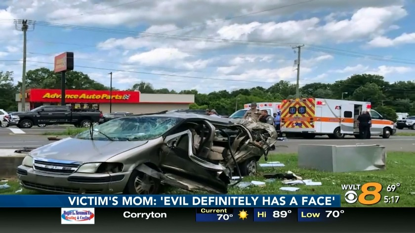 Carjacking victim's mom: 'Evil definitely has a face'