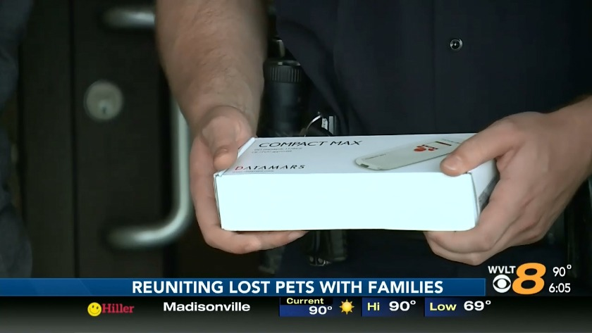 New microchip scanners for animal control trucks