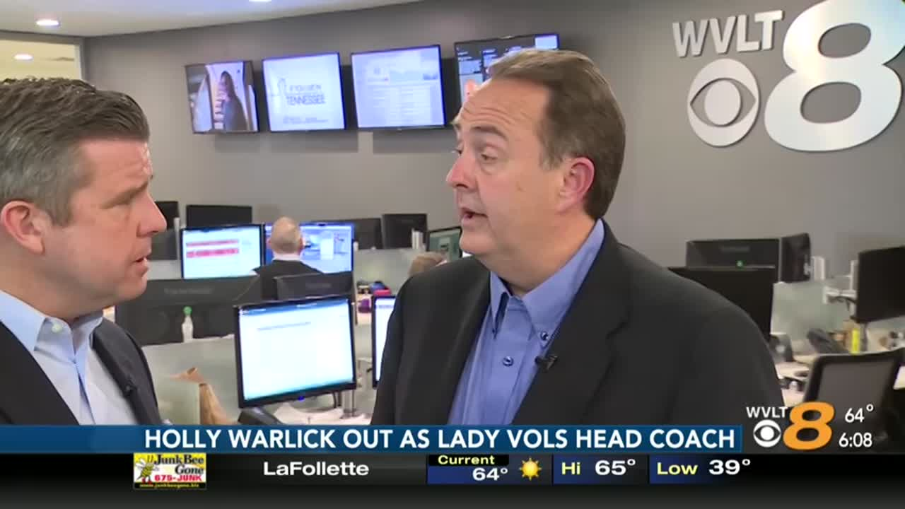 Chris Low talks about Holly Warlick's dismissal