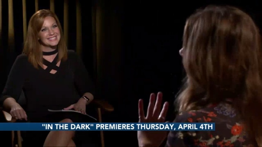 in the dark blind actress