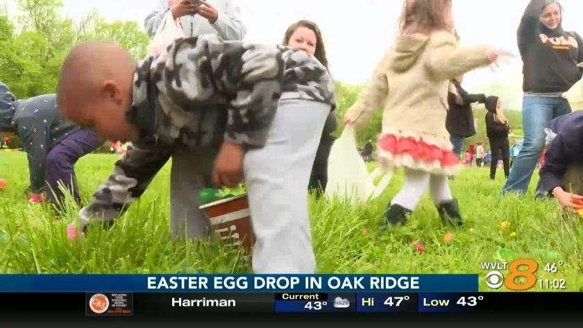 Robertsville Baptist Church Easter Egg drop