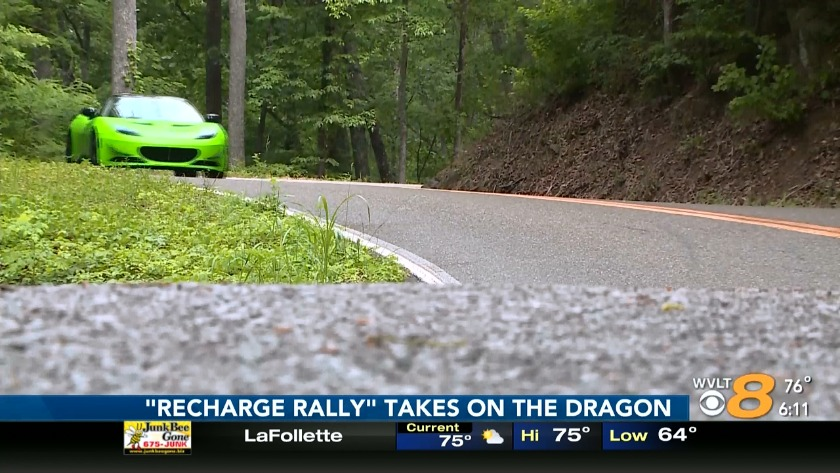 Tail of the Dragon: Taking the ride of your life on N C