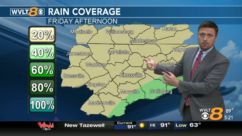 Your Forecast - Pop-up storms Friday, weekend
