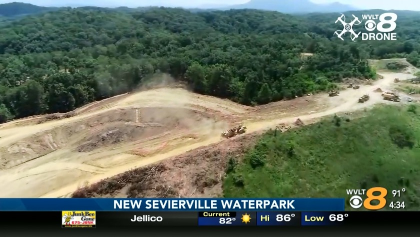 Sevierville getting new waterpark