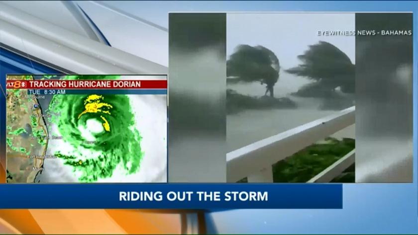 CW: Florida man, family riding out storm