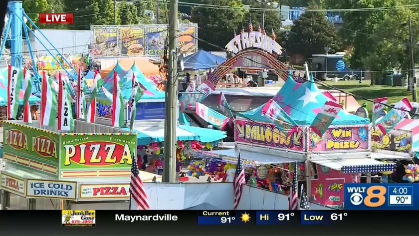 WVLT live at the Tennessee Valley Fair